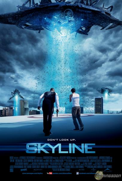 Affiche et résumé du film Skyline avec Eric Balfour ...