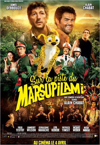 sur la piste du marsupilami  affiche et r u00e9sum u00e9 du film  u2013 placedecinema