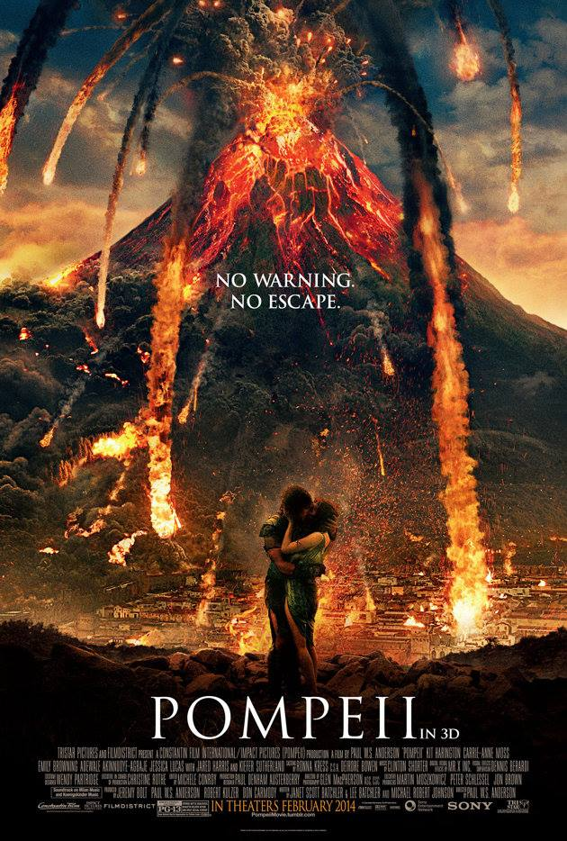 Pompéi, l'affiche et le résumé du film en 3D