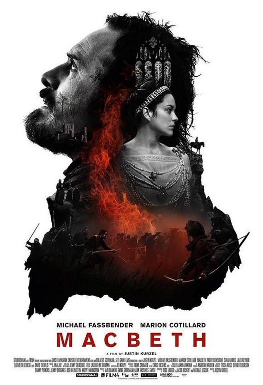 Nouvelle bande annonce et affiche pour Macbeth